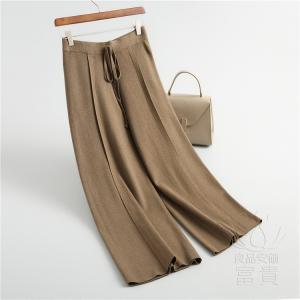 ニット セーター ズボン レディース バギー 無地 通勤 フェミニン ゆったり カジュアル おしゃれ|fuki-fashion
