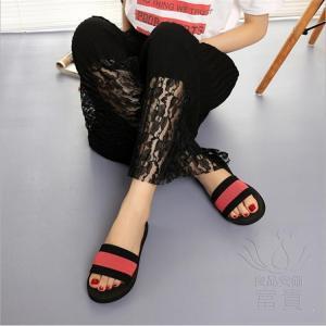 サンダル ビーチサンダル ミュール 靴 厚底 ぺたんこ 軽い 痛くない  履きやすい 滑り止め 水陸両用 ヒール 履き心地  ビーチグッズ  赤 レジャー用 室内|fuki-fashion