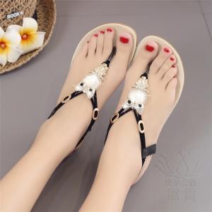 サンダル ビーチ・サンダル フラット 靴 キラキラ フクロウ オシャレ 歩きやすい 通気性 軽い レジャー 高級感 オフィス 美脚 水陸両用 履きやすい|fuki-fashion