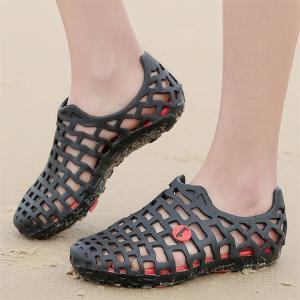 サンダル 男女兼用 水陸両用 靴 軽い コンパクト メンズ ウォーキング 歩きやすい 履きやすい 疲れない 便利 楽ちん ブラック|fuki-fashion