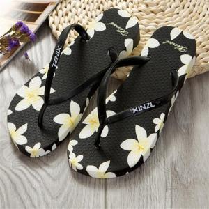 サンダル トング・サンダル ビーチサンダル 靴 フラット 花柄 軽い 歩きやすい 新作 可愛い 滑り止め オシャレ アウトドア 通気性 夏 痛くない 履きやすい|fuki-fashion