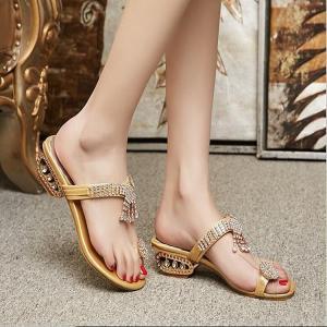 サンダル サムループ・サンダル  ビーチサンダル 靴 フラット キラキラ 履きやすい オシャレ 滑り止め 痛くない 歩きやすい ビーサン  履き心地  疲れない|fuki-fashion