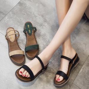 サンダル ミュール ぺたんこ 靴 厚底 履き心地  シンプル 新作 履きやすい ビーサン  滑り止め 痛くない オシャレ オフィス 楽ちん カジュアル 旅行|fuki-fashion