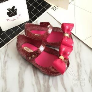 サンダル 蝶結び 子ども 靴 靴 キラキラ 履きやすい 軽い ビーサン  履き心地  卒園式 痛くない  歩きやすい 滑り止め アウトドア 旅行|fuki-fashion