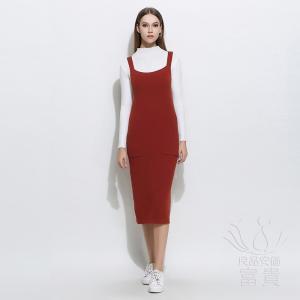 ニット セーター レディース ワンピース            韓国風|fuki-fashion