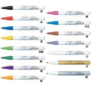 三菱鉛筆 uni ペイントマーカー 細字丸芯 品番:PX-21  参考価格:200円+税 線幅 0....