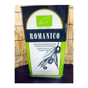 ロマニコ オーガニックエキストラバージンオリーブオイル(3リットル缶) fukinoto