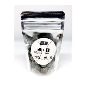 黒豆きな粉ボール(有機黒ごま・1個)|fukinoto