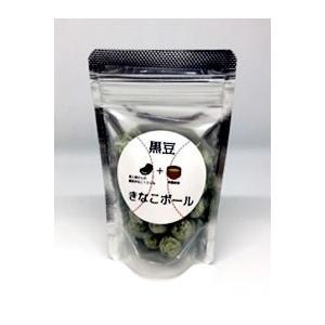黒豆きな粉ボール(有機抹茶・3個)|fukinoto