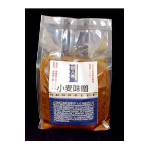 哲人秀さんの小麦味噌(3個)|fukinoto