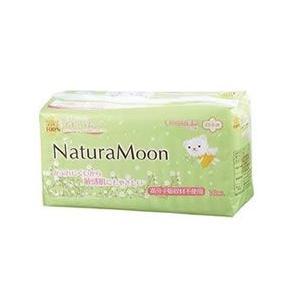 ナチュラムーン生理用ナプキン(多い日の昼用・羽つき) fukinoto