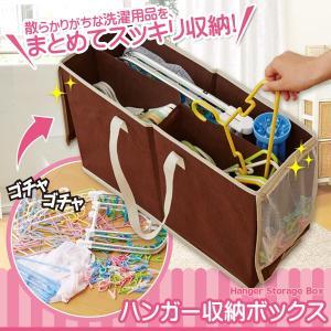 ハンガー収納ボックス 洗濯ばさみ ピンチ 洗濯用品 収納 メッシュポケット付|fuku-kitaru