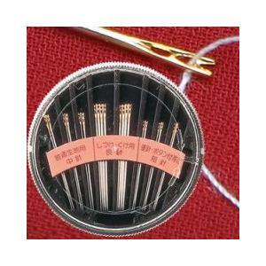 糸がカンタンに通る針/ネコポス便可(送料240円)1配送につき3点まで/糸通し 裁縫道具 老眼 簡単|fuku-kitaru