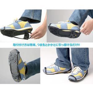 雪道ウォーカー 靴 滑り止め 積雪 歩く 装着 滑りにくい|fuku-kitaru|04