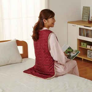 背中からあったか防寒着ねこ 家事 寒さ対策 ウォームビズ 動きやすい 防寒着|fuku-kitaru|05