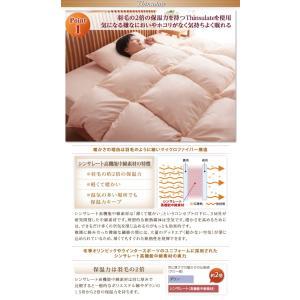 9色から選べる! 洗える抗菌防臭 シンサレート高機能中綿素材入り布団 8点セット ベッドタイプ シングル 来客用 暖かい 組布団/代引き決済不可/40201784|fuku-kitaru|05