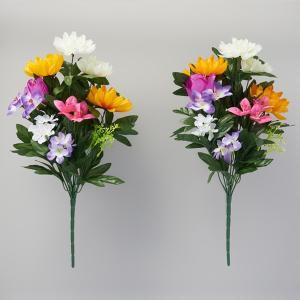 お墓・仏壇用 お供え花 2束入り 造花 仏花 ...の詳細画像1