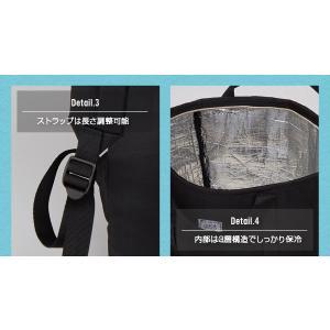 保冷リュック 2way ファスナー式 アウトドア 買い物 手提げ 保冷バッグ リュックサック エコバッグ おしゃれ 大容量 ペットボトル|fuku-kitaru|08