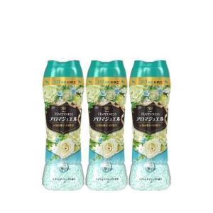レノア ハピネス アロマジュエル ビーズ 衣類の香りづけ専用 エメラルドブリーズ 本体 520mL(362g)【3個セット】|fukubookstore