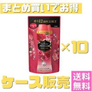 ケース販売 レノア ハピネス アロマジュエル ビーズ 衣類の香りづけ専用 ダイアモンドフローラル 詰め替え 455mL まとめ買いでお得 業務用【10個セット】|fukubookstore