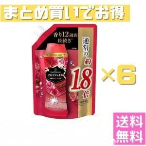 レノア ハピネス アロマジュエル ビーズ 衣類の香りづけ専用 ダイアモンドフローラル 詰め替え 約1.8倍(805mL/482g) 【6個セット】|fukubookstore