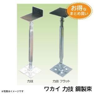 若井産業 WAKAI 力技 鋼製束 KD3045F (フラット型) 箱 (25本入り) お得なまとめ買い!|fukucom