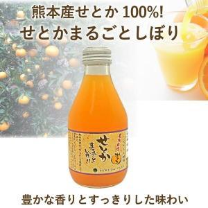ジュース せとか まるごとしぼり ストレート 1本 180ml 九州 熊本|fukuda-farm