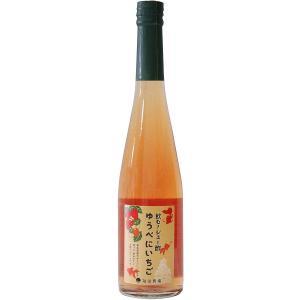 飲むジュー酢!ゆうべに苺(金魚ラベル 1本)|fukuda-farm