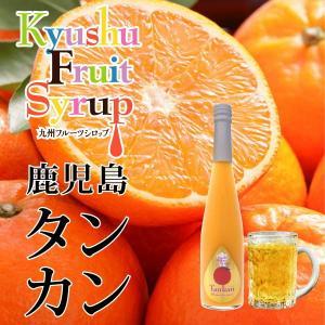 ノンアルコール ノンアルドリンク 九州果実シロップ タンカン 3倍希釈 はちみつ入り 500ml|fukuda-farm