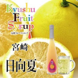 ノンアルコール ノンアルドリンク 九州果実シロップ 日向夏 3倍希釈 はちみつ入り 500ml|fukuda-farm