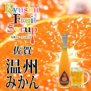 九州果実シロップ 温州みかん 3倍希釈 500ml|fukuda-farm