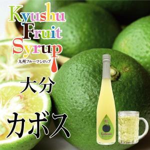 ノンアルコール ノンアルドリンク 九州果実シロップ カボス 3倍希釈 はちみつ入り 500ml|fukuda-farm