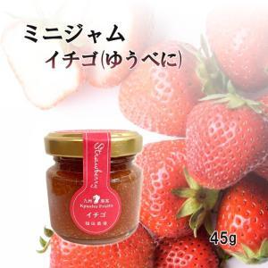 ジャム イチゴ ミニ 45g お試し 使い切りサイズ 福田農場 熊本|fukuda-farm