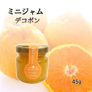 ジャム デコポン ミニ 45g お試し 使い切りサイズ 福田農場 熊本|fukuda-farm