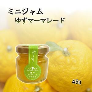 マーマレード ゆず ミニ 45g お試し 使い切りサイズ 福田農場 熊本|fukuda-farm