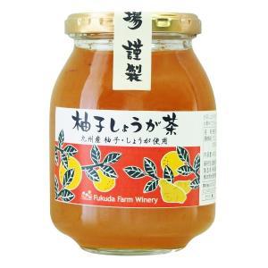 柚子しょうが茶 460g 九州産|fukuda-farm