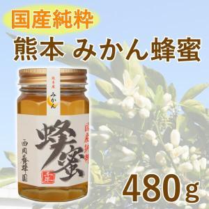 はちみつ 国産 純粋 100% 熊本 みかん 480g 甘味料 パンケーキ 紅茶|fukuda-farm