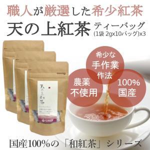 熊本 みなまた和紅茶 天の上紅茶TB 送料無料 ティーバッグ 2g 10個 3個 セット 天の製茶園|fukuda-farm