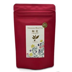 みなまた和紅茶 和音ハルモニア リーフ 30g 無農薬栽培 ブレンドティー|fukuda-farm