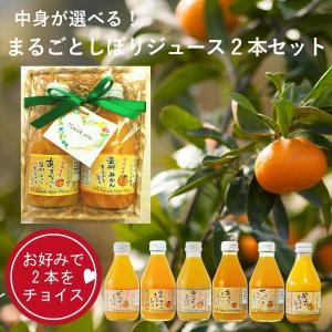 ギフト みかんジュース ストレート100% 180ml 2本 セット プチギフト ポイント消化|fukuda-farm