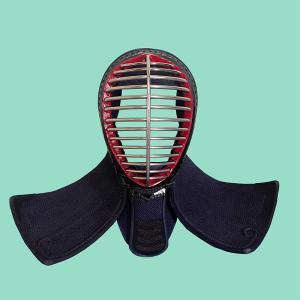 中古剣道防具 織刺 3mm具の目刺 面単品 68〜69サイズ 状態ランク:C|fukudabudogu