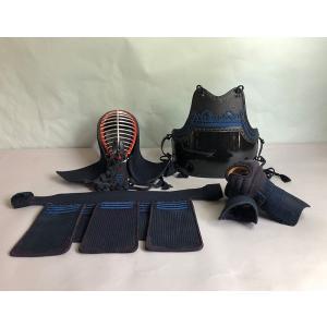 中古剣道防具セット よしのぼりSP Mサイズセット 角型ボストン防具袋付 |fukudabudogu