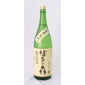 萬代 超辛口純米酒 博多の森  1800ml×6本 小林酒造 送料無料 [お取り寄せ] fukudasaketen