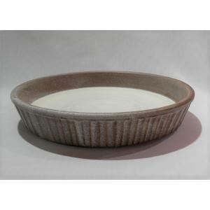 小石原焼 翁明窯 グラタン皿 ツートンマット 1個|fukudasaketen