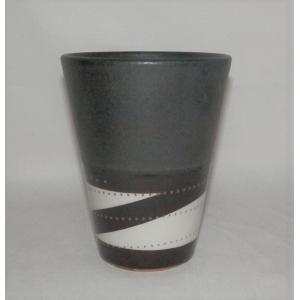 小石原焼 鶴見窯 ビアカップ c 1個|fukudasaketen