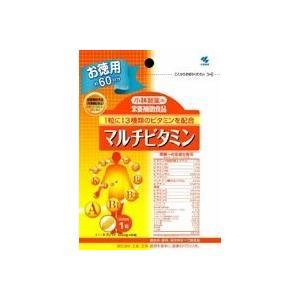 小林製薬 マルチビタミンお徳用 60粒|fukuei