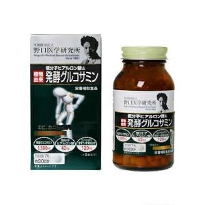 野口医学研究所 低分子ヒアルロン酸&発酵グルコサミン 210粒(約30日分)|fukuei