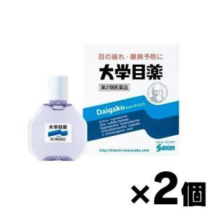 (メール便送料無料)大学目薬 15mL×2個セット (第2類医薬品)|fukuei