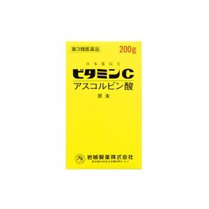 イワキアスコルビン酸原末 ビタミンC 200g (第3類医薬品)|fukuei