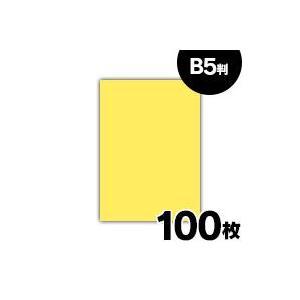 紀州 色上質紙 やまぶき 特厚口 110kg B5 100枚|fukuei